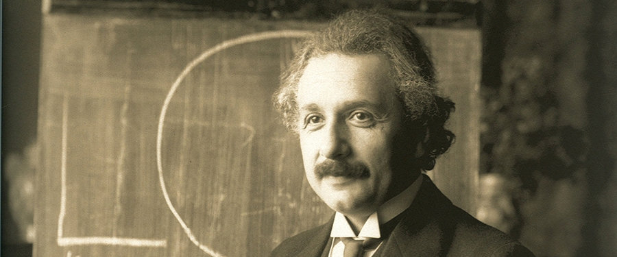 Einstein teaching investing in early reading