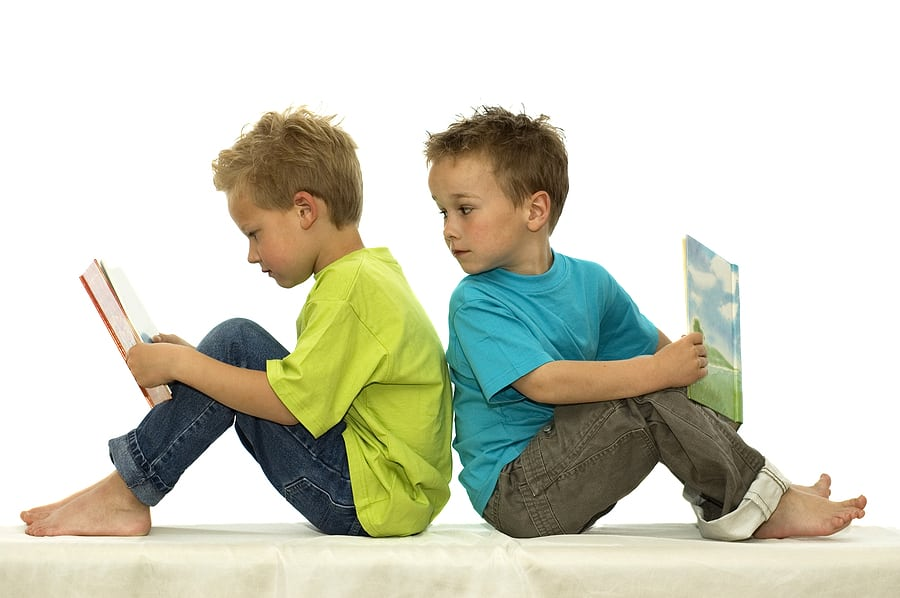 two kids reading; top 10 titles of 2020