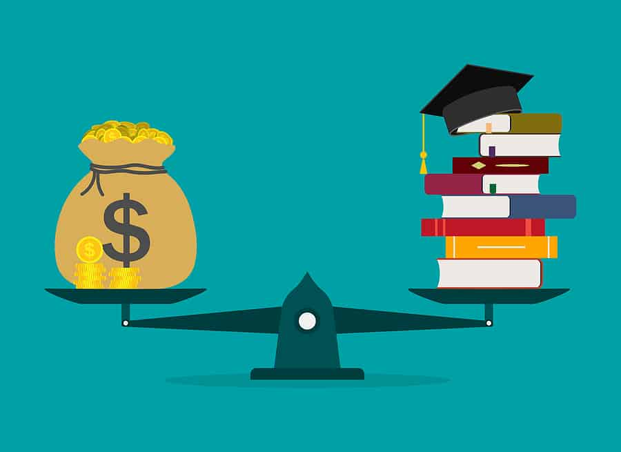 Funding For Education. Cost Of College And Invest In School